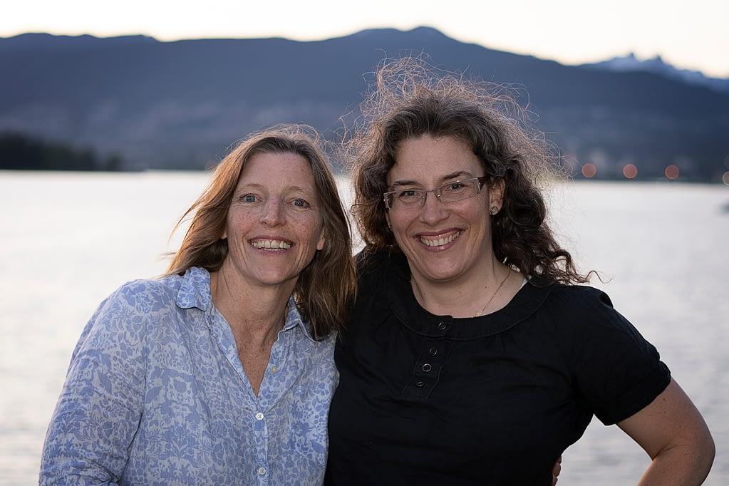 Kathryn Walker and Sarah Godoy smiling